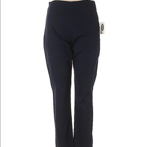 3/$40 Old Navy Blue Ankle Cropped Pants 10